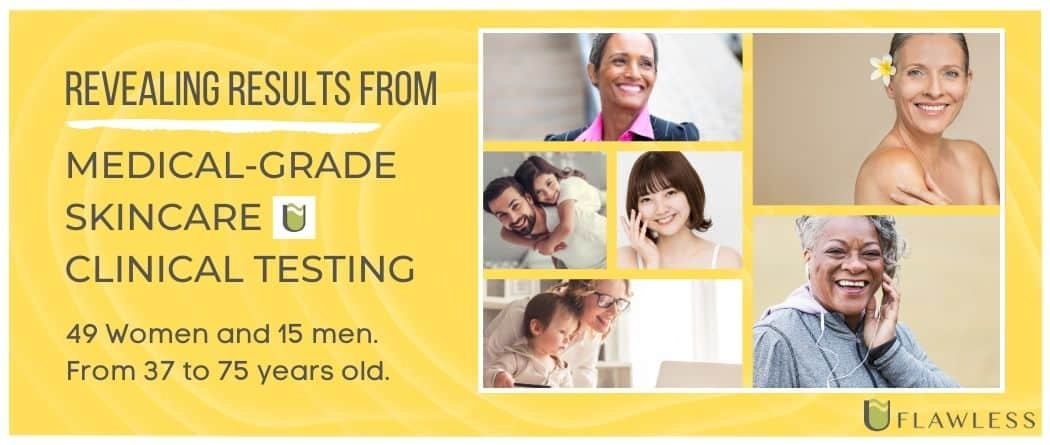 Revealing results from medical-grade skincare clinical testing