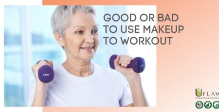 Good or bad to use makeup to workout