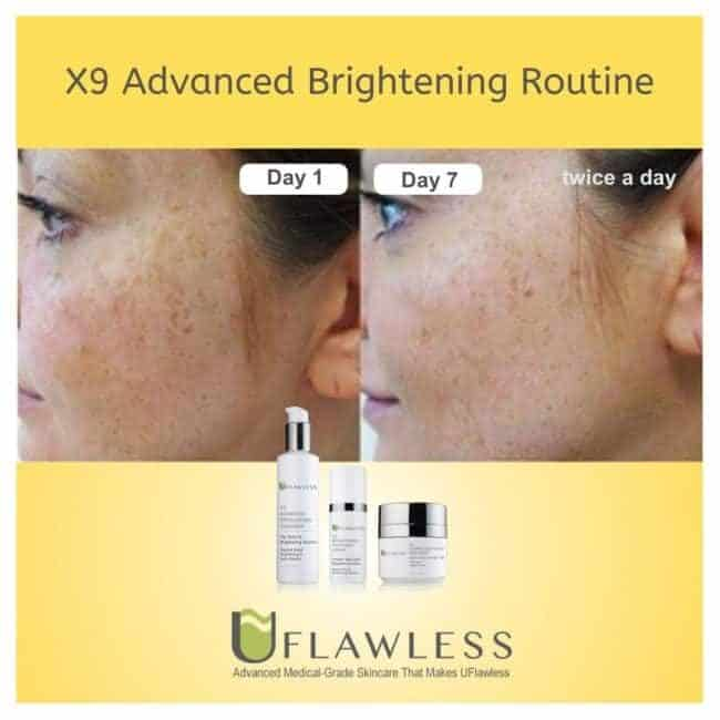 X9 Advanced Brightening Routine