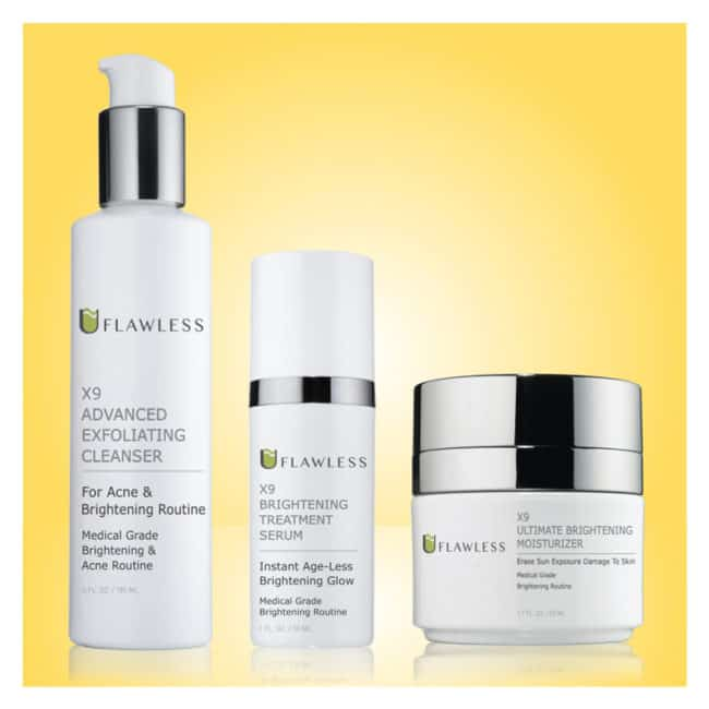 X9 Advanced Brightening Routine