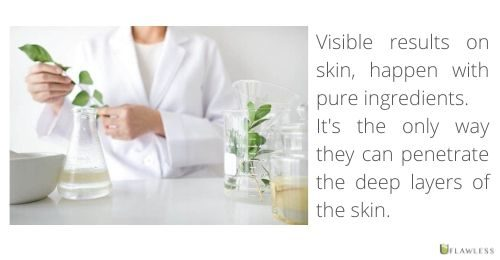 Pure ingredients deliver results