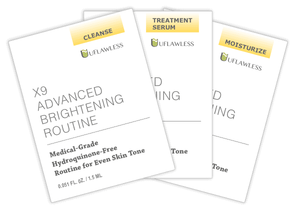 Samples - X9 Advanced Brightening Routine
