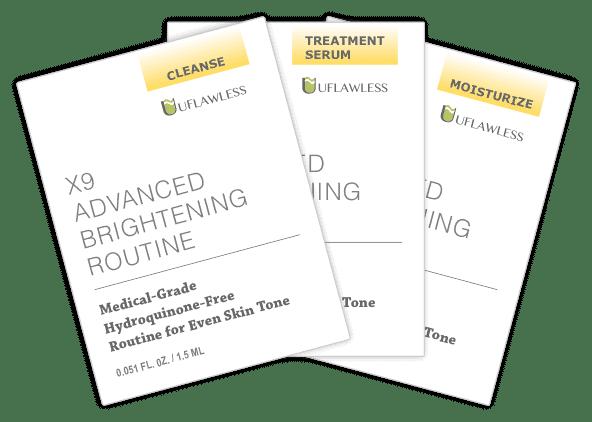 Samples - X9 Advanced Brightening Routine