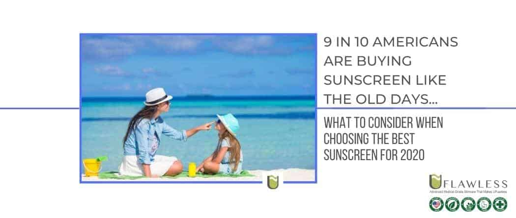 9 in 10 Americans are buying sunscreen like the old days