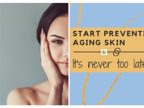 Start preventing aging skin - It's never too late