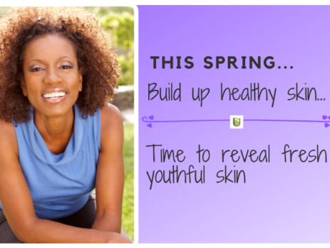 This spring reveal fresh youthful skin